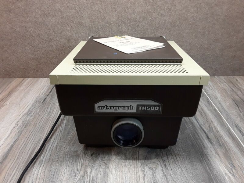 VINTAGE ARTOGRAPH TH-500 ARTWORK 3D PROJECTOR Tested Works Manual Included