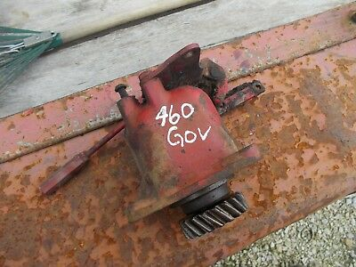 Farmall 460 Gas Tractor Orgl Ih Good Working Governor Assembly Cover - Linkage