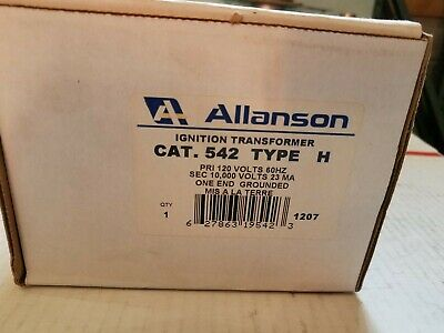 Allanson Cat 542 Type H Ignition Transformer