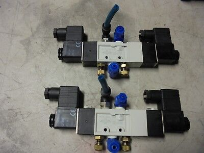 Lot Of 2 Mindman Mvsc-220-4e2 Pneumatic Solenoid Valves 90 Day Warranty