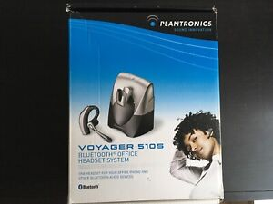 Plantronics Voyager 510SL Bluetooth Headset + Automatic Lifter