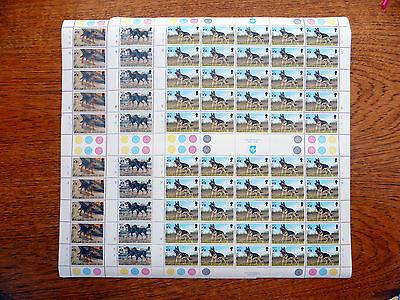 SOLOMON ISLANDS Wholesale Hong Kong Dogs 80c, 95c & $1.10 Cat £135 SALE FP2530