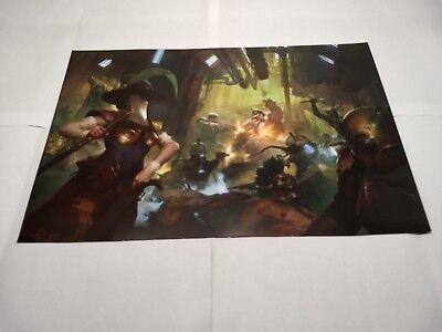 Rogue Trader Kill Team poster boxart box art Warhammer 40k Games Workshop new