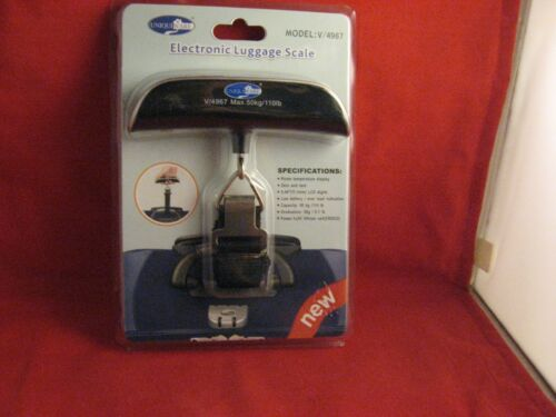 New Factory Sealed Packaging, Uniqueware Electronic Luggage Scale & Battery