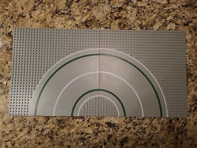 LEGO 6311 Town Curved Road plates