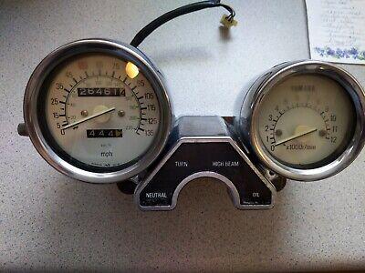 1987 Yamaha Radian 600 YX600 SPEEDO TACH GAUGES display lights  SPEEDOMETER used