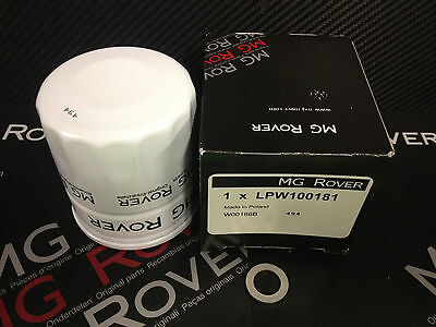 MGF , MG TF Genuine MG Oil Filter And Sump Plug Washer LPW100181.