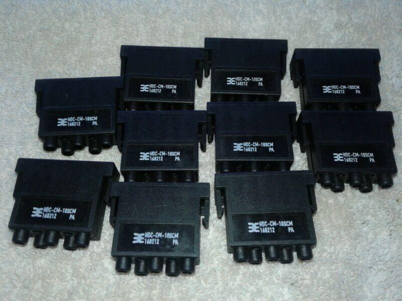 Weidmuller HDC-CM-10SCM, 10A 250V Module 168212 (Lot Of 10)