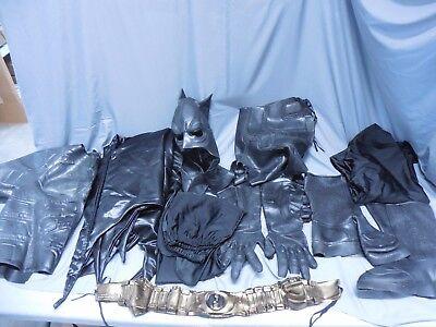 Batman Full Costume (DC COMICS BATMAN FULL ADULT LARGE LATEX COSTUME COMPLETE COSPLAY)