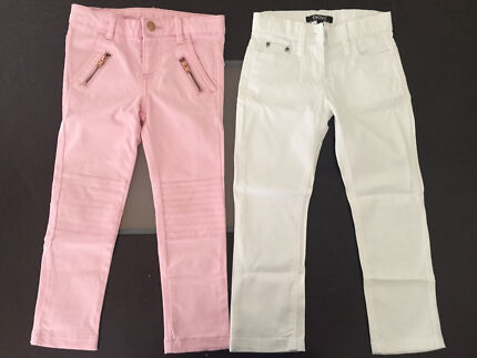 2 pairs or trousers - Sizes 2 and 3 (1 x DKNY, 1xTarget)