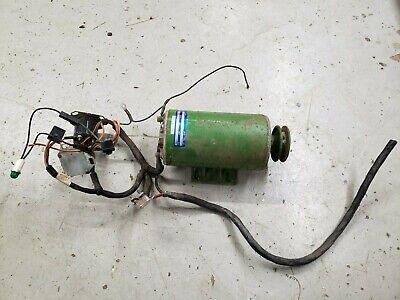 12 Volt Dc Motor - 12 Hp 1800rpm 41 Amps John Deere Transfer Pump