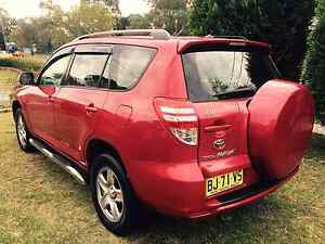 TOYOTA  RAV4 SERIES 2 (4×4)LATE 09 Doonside Blacktown Area Preview