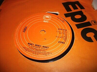 "ABBA- MONEY MONEY MONEY VINYL 7"" 45RPM co"