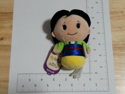 2016 Hallmark Itty Bittys Disney Princess Mulan Plush NWT New with Tags