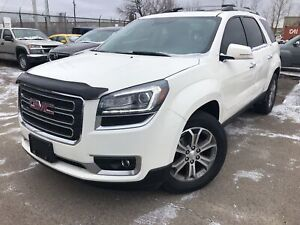 2015 Gmc Acadia SLT1 Leather Navigation Sunroof Back Up Camera