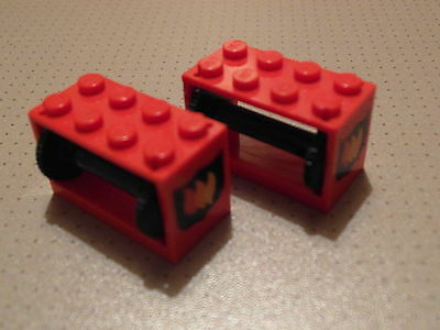 LEGO - PICK YOUR COLOR !! Light Gray Drum String Reel Winch 2 x 4 x 2