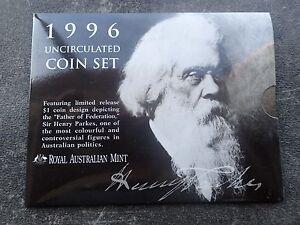 1996 Australian Mint Set