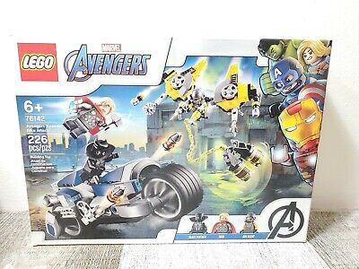 LEGO Marvel Avengers 76142 Avengers Speeder Bike Attack NEW + Free Shipping