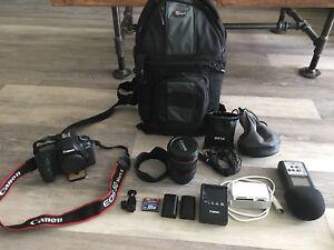 Canon 5D Mark II 2 DSLR 24-105 lens  + whole package