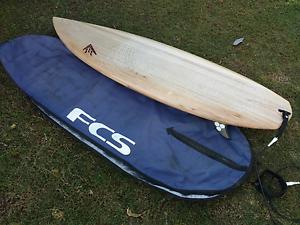 "Firewire timbertek Potatonator 6'8"" surfboard surfed twice. Kuluin Maroochydore Area Preview"