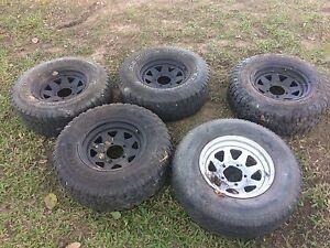 Set of 5 15x8 5x139.7 Daihatsu , Suzuki Wheels Greenbank Logan Area Preview
