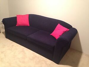 Blue Sofa bed Oatley Hurstville Area Preview