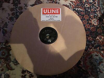 Uline 2 Mil Polytubing 2 X 3000 S-1112 S1112 U Line Poly Tubing