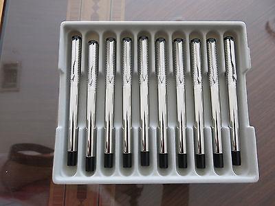 Parker Vector SS Chiselled  Fountain pen Medium nib (Tray of 10)