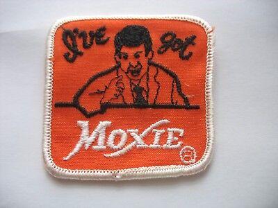 HTF 1970s I've Got Moxie Soda pop Beverage Cloth Patch New NOS Advertising