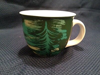 2014 Starbucks Green Christmas Tree Mug 14 oz.