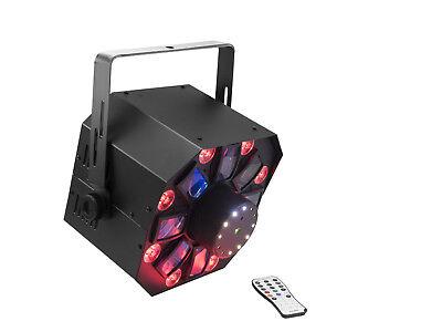 Eurolite LED FE-1750 Hybrid Laserflower 4in1-LED-Effektscheinwerfer mit Derby - 1750 Laser