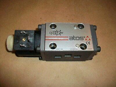 Atos Hydraulic Valve Dh1-06312 23 Used