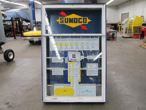 Sunoco Custom Blended Gas Station Window Advertisement Display Window 60