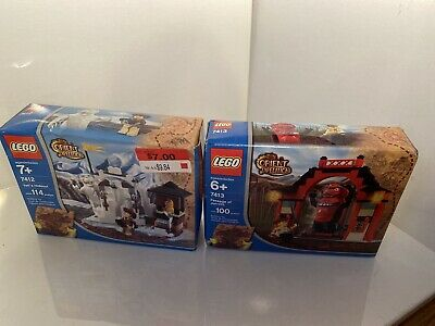 Lego Orient Expedition Yeti's Hideout (7412) And Passage Of Jun-Chi 7413 BUNDLE