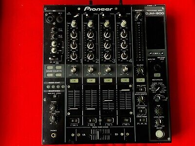 Pioneer DJM-800 4 Channel Digital Pro DJ Mixer - Black