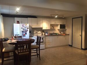 One Bedroom FURNISHED Basement Suite; ALL INCLUDED
