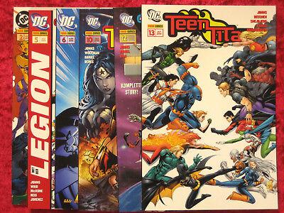 Teen Titans Sonderband Superhelden Comic Panini 2004-09 div. Bd. zum (Teen Superhelden)
