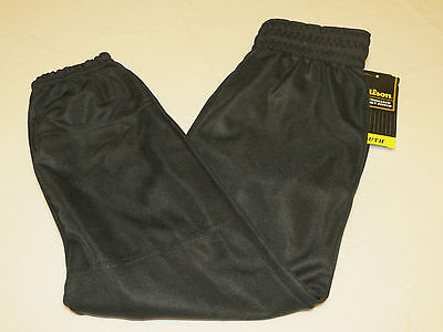 Wilson Athletic Youth M Baseball Pull up Pant 1 pair black sports WTA4204 NOS MD