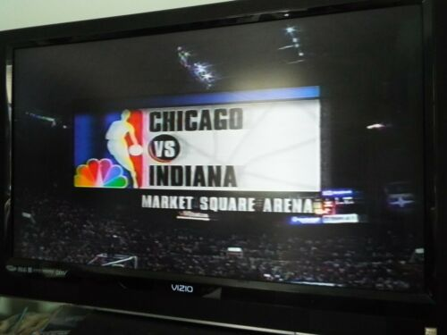 VHS Sold as Blank Pacers vs Bulls Jordan