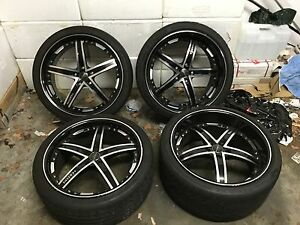 20 inch Vertini Fairlady Staggered wheels and tyres Merewether Newcastle Area Preview