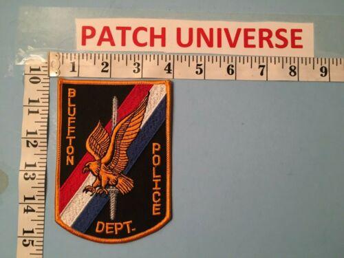 BLUFFTON OHIO  POLICE SHOULDER PATCH    I057