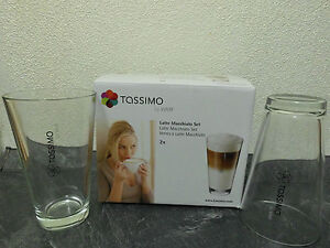 Tassimo Latte Macchiato Gläser Set von WMF Original und OVP = 2 Gläser