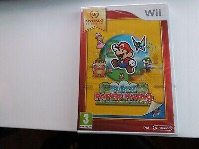 Super Paper Mario Wii NEUF