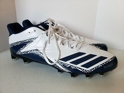 bf88b15b350 Adidas Freak X Carbon Football Cleats Blue   White NWOB Mens Low Size 15M