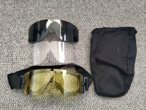 Airsoft Matrix GX-1000 Anti-Fog Tactical Shooting Goggles w/ 3 Lenses and Bag