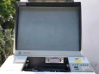 Minolta Rp 509 Microfilm Scanner