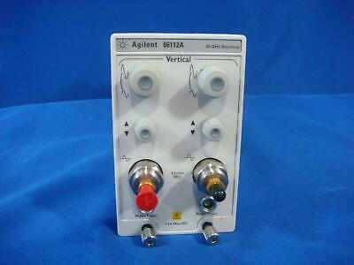 Agilent 86112a 20 Ghz Dual Channel Electrical Module