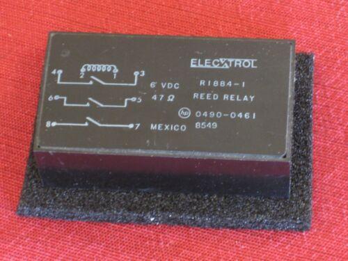 """Vintage Elec-trol 3PST-NO Reed Relay #R1884-1 6VDC 2-5/8""""x1-1/2""""x 7/8"""" NOS 8-pin"""