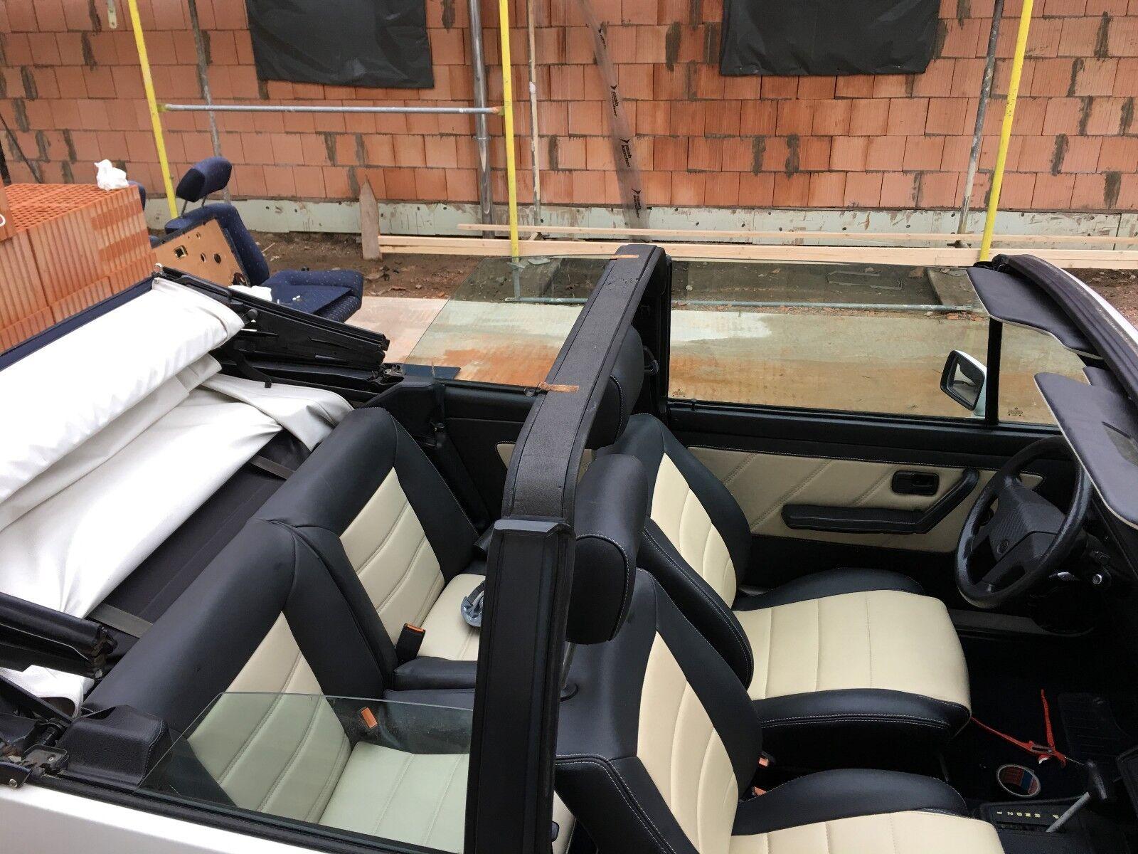 Golf 1 Cabriolet Automatik - technisch wie neu! Verschleißteile/Innenausst. NEU