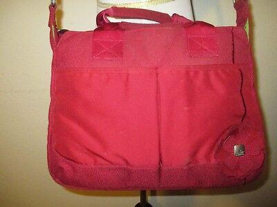 Haiku Red Crossbody Messenger Bag Handbag Purse